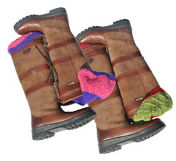Dubarry Galway Boots with E.J.Churchill Shooting Socks